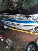 Fishing Boat for Sale with 60HP Mariner