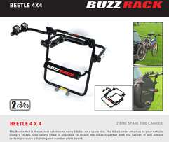 TYRE Mount Bike RACK for 2 Bicycles