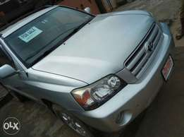 Direct Tokunbo Toyota Highlander 2005 Model