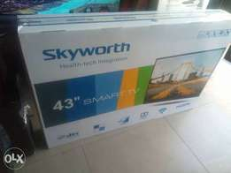 43 inch SKYWORTH smart Digital TVs [Free Home Deliveries]