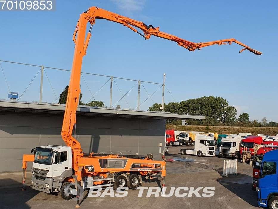 Mercedes-Benz Axor 3340 K 6X4 Putzmeister 38-5 Manual Big-Axle Steelsus... - 2016 - image 7