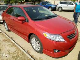 Foreign Used 2009 Toyota Corolla Sport For N3M