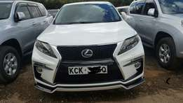 Lexus Rx450H Facelifted to brandnew