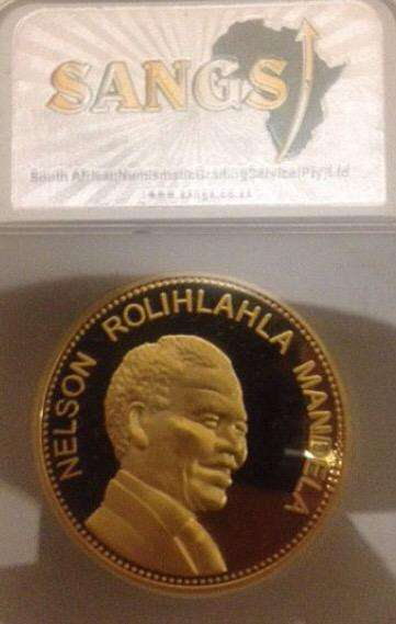 Mandela coin for sale
