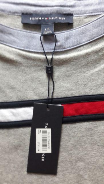 61c00066eb245 Tommy Hilfiger damska bluzka koszulka L z USA Marki - image 4