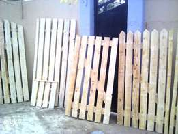 Yard/garden gates and fencing