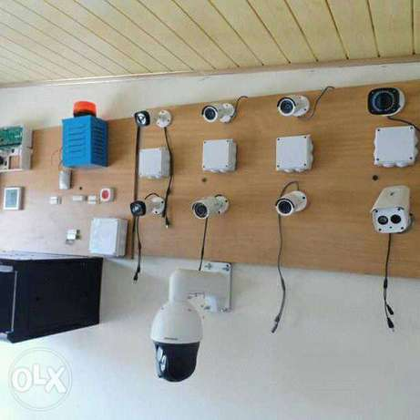 Solar water heater, smart door phone, electric fence and and Cctv Nairobi CBD - image 3