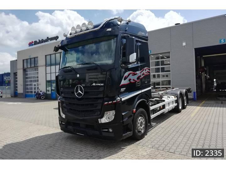 Mercedes-Benz Actros 2551 BigSpace, Euro 5 - 2012