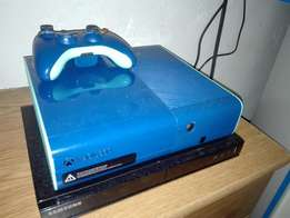 Xbox 360 blue edition for sale