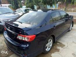 Uniquely Clean 2012 Tokunbo Toyota Corolla Sports