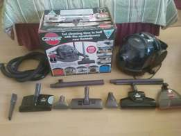 Carpet cleaner with vacuum for sale