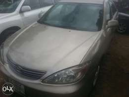 Perfectly used toyota camry 2004 tincan cleared buy n travel