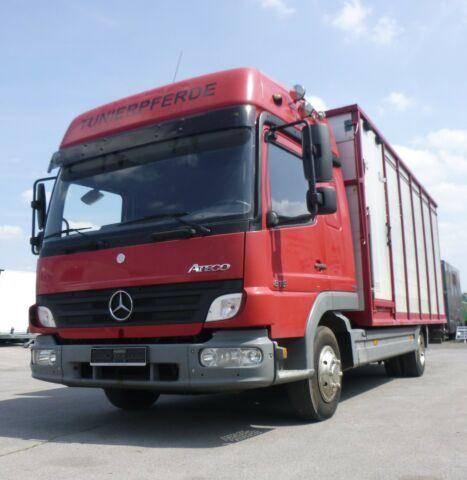 Mercedes-Benz Atego 818L Vieh/Pferdetransporter 7,49to VOLLALU - 2007