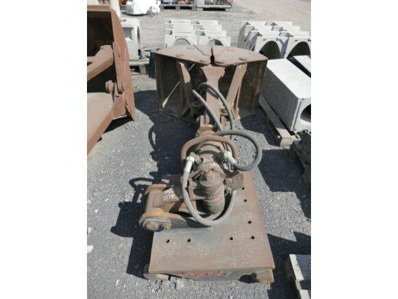 Sale sand grapple with quick attach grapple for  by auction