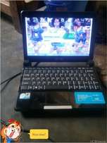 RLG mini laptop 500 gig hard disk and 1 gig ram swap allow.