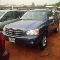 NIGERIAN USED Toyota Highlander, 2004. Buy & Drive No Issues.
