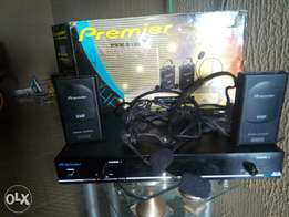 professional premier wireless microphone system (VHF).