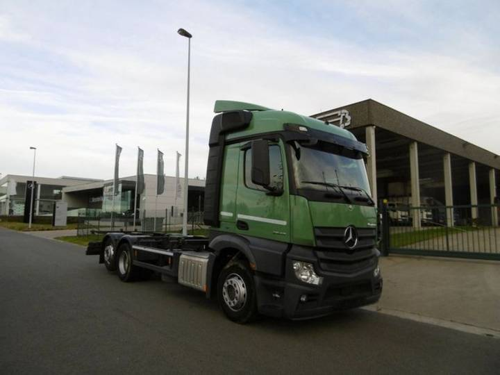Mercedes-Benz 2643 ACTROS - 6X2 - EURO 6 - CHASSIS - 2014