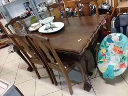 Ball and Claw Dining Room Set FOR SALE