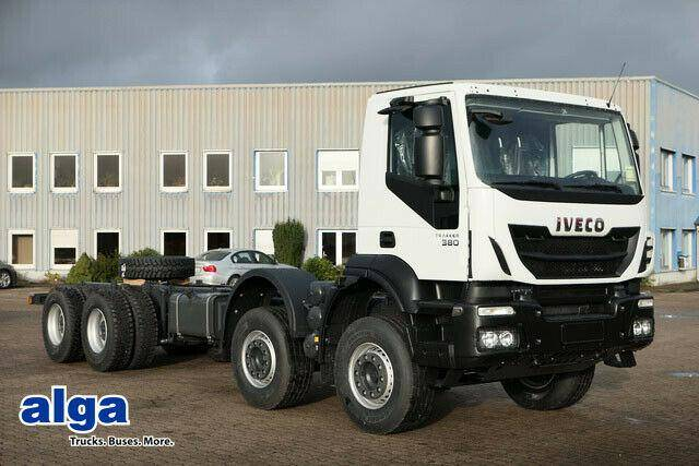 Iveco AD410T38H 8x4, Chassis, Kabine - 2019