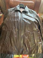 c524010fb6626 Мужская Кожаная куртка Fabiani 52р