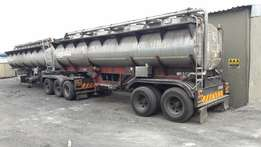 Stainless STEEL (316 L ) TANKER 40 000 L FOR SALE / RENT
