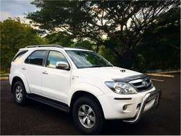 2008 Toyota Fortuner, D4d, Manual, 2X4, Low kms.
