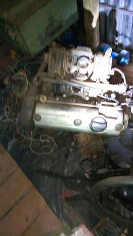 Vw caddy engine with gearbox Cheplaskei - image 3
