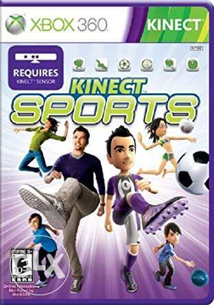 Brand New XBOX 360 Kinect Sports Original Game
