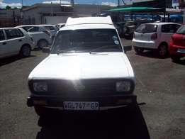 Nissan 1400 Model 2003,3 Doors factory A/C And C/D Player
