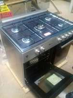 Blue flame gas cooker