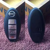 Car key duplication for all Nissan