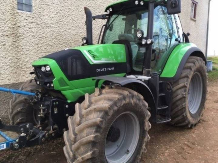 Deutz-fahr Tracteur Deutz Fahr Agrotron Ttv 6180 - 2015