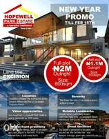 Cheapest Land With Approved Govt Excision- HOPEWELL PARK ESTATE, Ibeju