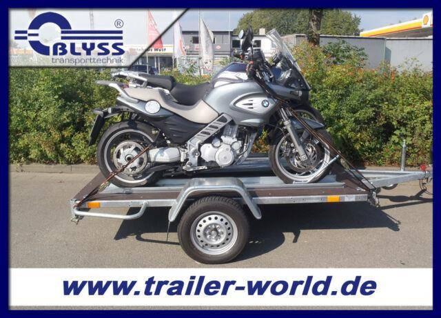Blyss Motorradanhänger 243x121x39cm 750kg GG