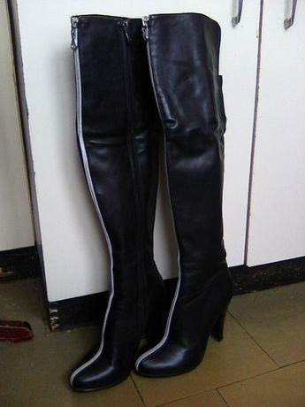 486e9c402df842 Сапоги женские, ботфорты высокие, чоботи жіночі Ивано-Франковск -  изображение 1