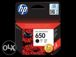 All HP printer catriges 650/61/ 933XL/63/950