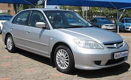2004 Honda Civic 170i Sedan Manual