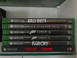 Xbox One Games (Immaculate Condition!!)