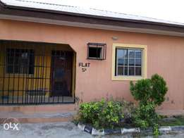 Two bedroom apartment at a mini estate in sabon Lugbe