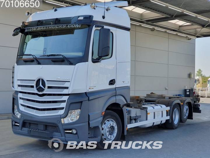 Mercedes-Benz Actros 2545 LS 6X2 Retarder Liftachse Navi Euro 6 - 2013