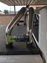 PRICE DROP!!Amarok rollbar and tonneau cover