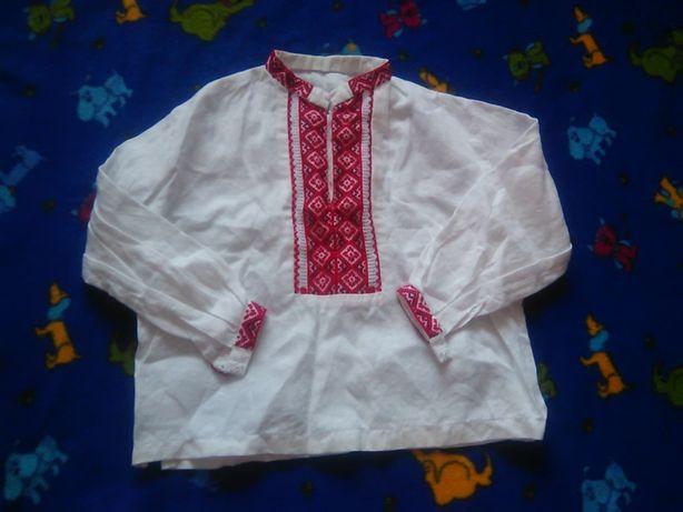 вишиванка вишита сорочка вышиванка рубашка на 4 роки свято праздник  Ивано-Франковск - изображение 2 1b52e8ea7d002