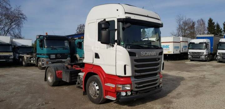 Scania R440 Highline ADR ex-Silokompressor PTO - 2013
