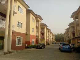 Beautiful 4 bedroom with 1 room BQ for rent at Jabi in an Estate