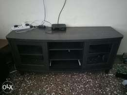 Tv stand grey in colour