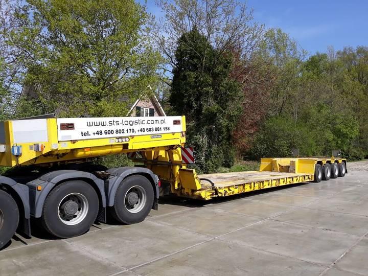 Goldhofer STZ-VL4-61/80A Euro tiefbett 83000kg - 2007