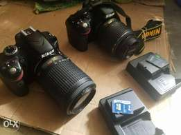 2 Used D3200 Video Camera