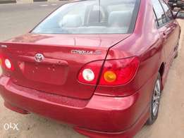 2004 clean Toyota corolla for sale