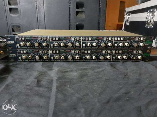 BSS DPR-504 4 Channel Quad Noise Gate / Expander